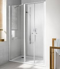 sliding shower screen folding for alcoves corner ibiza