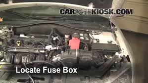 2011 ford fusion battery replacement replace a fuse 2010 2012 ford fusion 2010 ford fusion se 2 5l 4