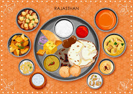 cuisine rajasthan traditional rajasthani cuisine and food meal thali of rajasthan