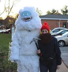 abominable snowman costume bumble the abominable snowman and yukon cornelius costumes