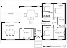plan appartement 3 chambres plan maison tage avec sous sol ooreka con plan appartement 2