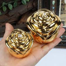 box rings images New gold color wedding rings box engagement rings metal case zinc jpg