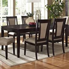 Steve Silver Wilson  Piece Extension Dining Room Set In Espresso - Espresso dining room set