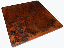 Hammered Copper Dining Table Hammered Copper Table Ebay