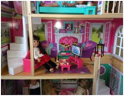kidkraft american doll house for 18 inch dolls and accessories