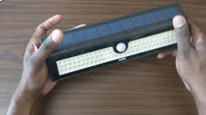 mpow solar light instructions amir 77 led solar lights solar powered motion sensor light youtube
