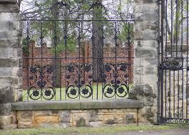custom made wrought iron fences ornamental iron fences decorative