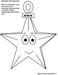 christmas star coloring page contegri com