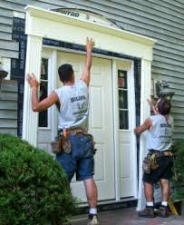 Vinyl Door Trim Exterior Repairing A Rotten Door Entry Thisiscarpentry