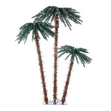 artificial palm tree lights decoration
