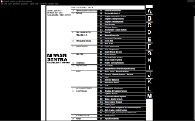 nissan versa engine diagram 2000 to 2006 nissan sentra service manual factory direct