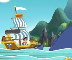 jake land pirates ship river jake