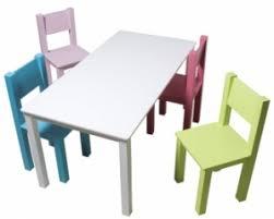 table et chaise pour b b grande table mix match salle de jeux chaise pour