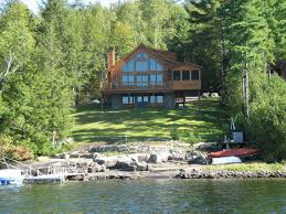 Luxury Waterfront Home Plans Design Lakefront House Lake With
