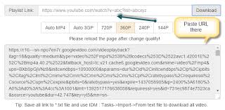 download youtube idm mp4 how to download youtube playlist using internet download manager