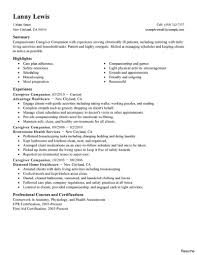 caregiver resume exles caregiver resume sle caregiver resume exle duties exles