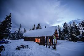 winter cabin cabins calling outside bozeman