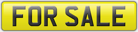 how to sell a number plate simply registrations