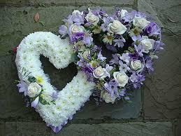 Funeral Flower Designs - funeral flower hearts florist bespoke floral designs march wisbech