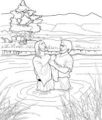 john the baptist coloring page for kids from lds org ldsprimary