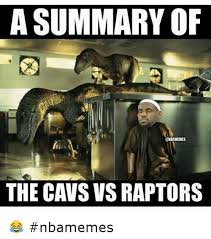 Meme Raptor - a summary of the cavs vs raptors nbamemes basketball meme on me me