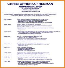 personal resume exles personal chef resume sle chef resume yralaska