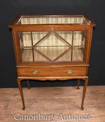Antique Edwardian Display Cabinet Display Cabinets And Bijouteries French Glass Cabinets