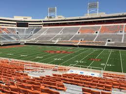 boone pickens stadium section 203 rateyourseats com