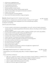 desktop support technician resume sample it support technician