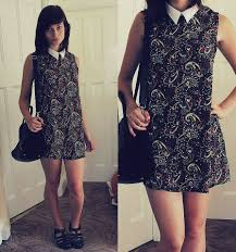 elly sutherland urban outfitters paisley dress w collar juju