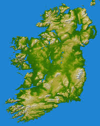 Topographic Map Of Washington by Topographic Map Of Ireland 5270 6669 Mapporn