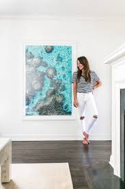 amy of dallas wardrobe home tour featuring gray malin artwork