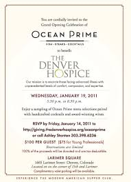 ocean prime grand opening party jan 19 larimer square