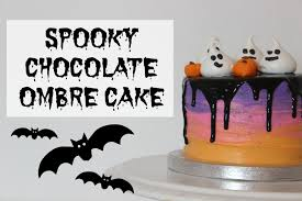 Halloween Chocolate Cake by How To Ombre Halloween Chocolate Cake Youtube