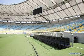 Stadium Bench Maracana Stadium In Rio De Janeiro Brazil Sports News Sina