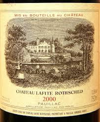learn about chateau lafite rothschild 2000 château lafite rothschild bordeaux médoc pauillac