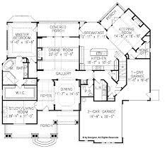 craftsman style house plan 3 beds 2 5 baths 3337 sq ft plan 54