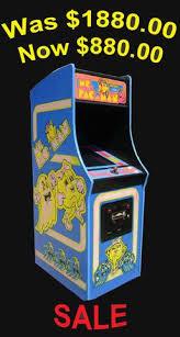Ms Pacman Cabinet Arcades Market