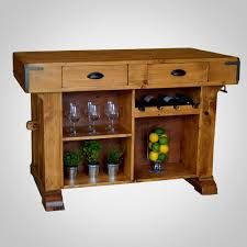 santa maria solid pine kitchen island and bench home goods