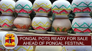 Pots For Sale Pongal Pots Ready For Sale Ahead Of Pongal Festival Thanthi Tv