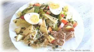 la cuisine de mes envies salade terre mer et ses graines recette par ma cuisine salée mes