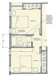 Jack And Jill Bathroom Layout 2nd Floor Addition Plan Gif 1 079 767 Pixels Great Ideas
