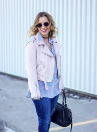 pink motorcycle jacket this pastel pink moto jacket will be the jacket for spring