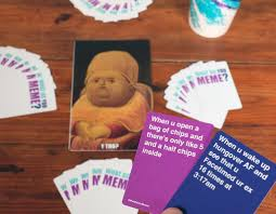 U Meme - what do you meme card game popsugar tech