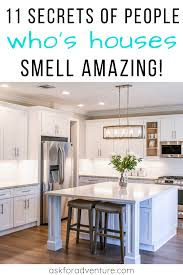 how to make cabinets smell better how to make your house smell naturally secrets that