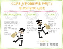 cops u0026 robbers or police party party like a cherry
