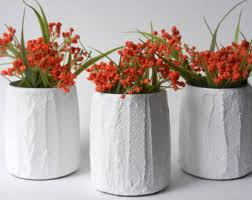 Small Red Vases Small White Vase Etsy