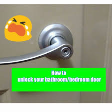 how to pick a bedroom lock baby nursery how to pick a bedroom door lock life hacks how to