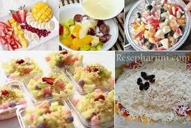 cara membuat salad sayur atau buah resep salad buah yoghurt saus mayonaise keju ala resto resep hari ini
