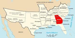 Statemaster Maps Of Washington 26 by Georgia U S State